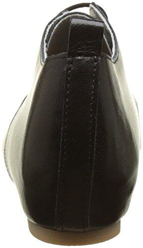 Vintage Ippon Damen Bic-use Black Derbys (nero)