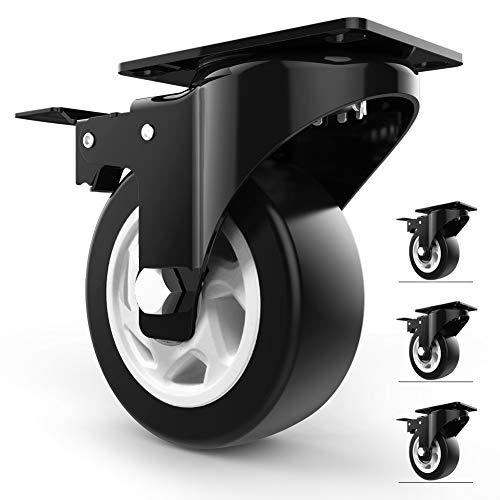 4 Swivel Caster Wheels