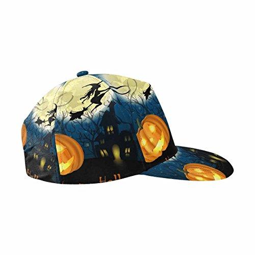 Halloween Hats Clipart (InterestPrint Clip Art Illustrations for Halloween Celebration Hat Adjustable Baseball Cap Hip-hop Hat)