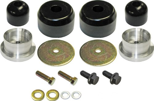 Currie Enterprises CE-9122R Rear Poly Bump Stop Kit for Jeep TJ/LJ (Poly Jeep Performance)