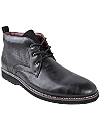 Men's Denver Ankle Boots | Lace Up | Mens Boots Fashion | Casual Fashion | Chukka Boots Men
