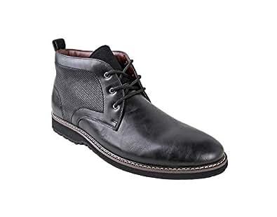 Amazon.com | Ferro Aldo Men's Denver Ankle Boots | Lace Up