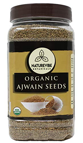 Naturevibe Botanicals Ajwain Seed (5lbs) (5 pack of 1lbs each) | Trachyspermum ammi | Non GMO & Gluten Free | Helps in Digestion | Adds Flavour. by Naturevibe Botanicals (Image #2)