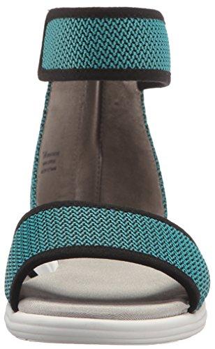 Aerosoles Womens Grandezza Sandali Con Zeppa Brillante Combo Blu