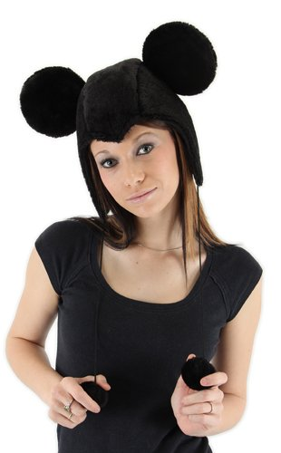 Mouse Hat - elope Disney's Mickey Mouse Hoodie Hat