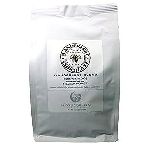 Colombian DECAF Coffee Beans, 12 oz. SWP Gourmet Medium Roast, Swiss Water Process Decaf Coffee 12 Ounces Wanderlust Blend