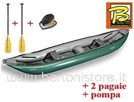 gumotex - gumotex Baraka verde canoa hinchable 043955-g (13 ...