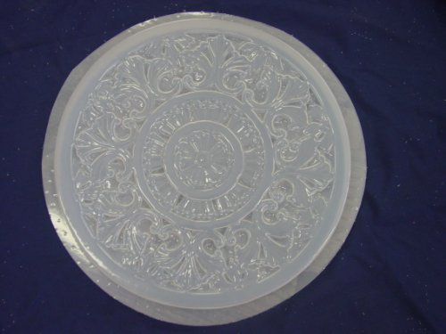 Decorative Celtic Design Concrete Plaster Stepping Stone Mold 1089