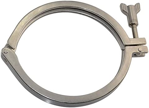 """Pro 2.5/"""" Tri Clamp Clover fits for 50.5-115MM OD Ferrule SUS316 Sanitary Fitting"""