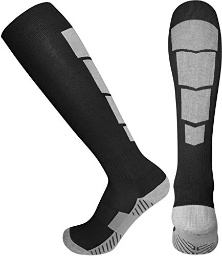 Elite Athletic Socks - Over The Calf - Black (Medium, Black)