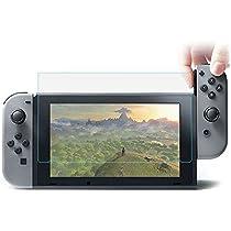 MUNDDY Protector de Pantalla de Cristal Templado para Nintendo Switch Espesor 0,30 mm,2.5D Round Edge,[9H Dureza] [Alta Transparencia] [Sin Burbujas] [Ajuste (1 Protector): Amazon.es: Electrónica