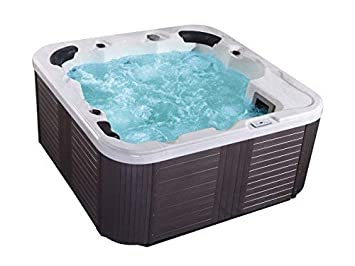 Outdoor Whirlpool Hot Tub Venedig Farbe Weiss Mit Amazon De Elektronik
