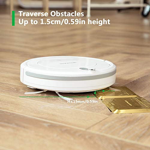Beaudens Robot Vacuum Cleaner With Slim Design Tangle