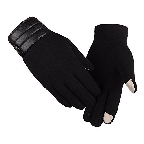 Winter Warm Gloves Men's Touch Screen Non-Cashmere Outdoor - Canada 4121