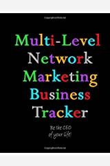 Multi-Level Network Marketing Business Tracker: 12 Month Business Tracking System Paperback