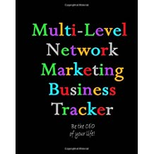 Multi-Level Network Marketing Business Tracker: 12 Month Business Tracking System