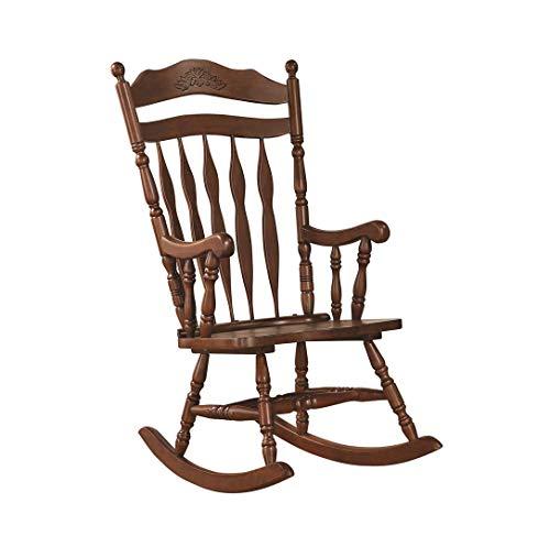 Windsor Rocking Chair Medium Brown (Chair Rocking Indoor Wooden)