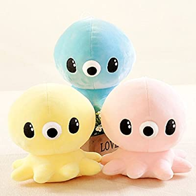 E.a@Market Cute Octopus Doll Grappling Machine Kid's Gift Animal Stuffed Toys (Pink): Home & Kitchen