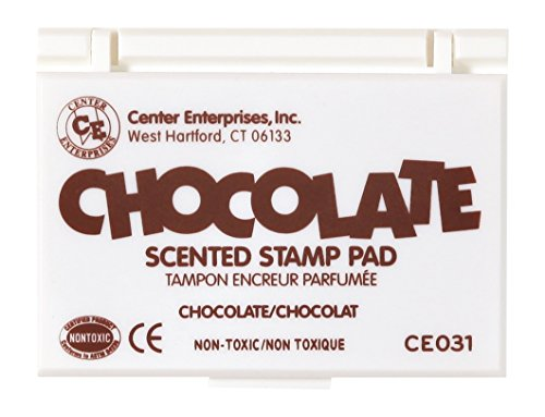 Center Enterprise CE031 Chocolate Scented Stamp Pads, Brown