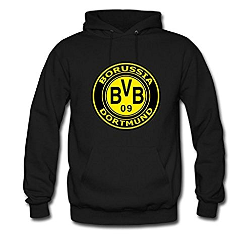 Winnie Fashion Custom Boy Mens BV Borussia Dortmund 09 Gildan Hoody Jacket Medium