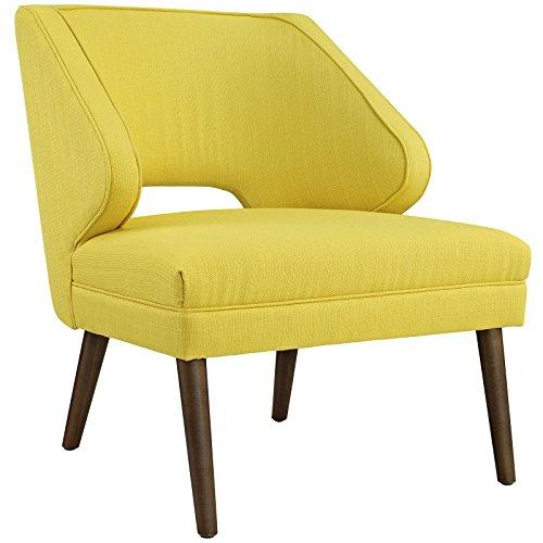 Modway Dock Fabric Armchair, Twin, Sunny