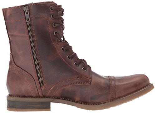 c Boot Steve Combat Leather Men's Troopah Brown Madden OwRqtFP