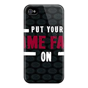 Iphone 4/4s THW11134vBNf Allow Personal Design Nice San Francisco 49ers Pattern Best Cell-phone Hard Covers -IanJoeyPatricia