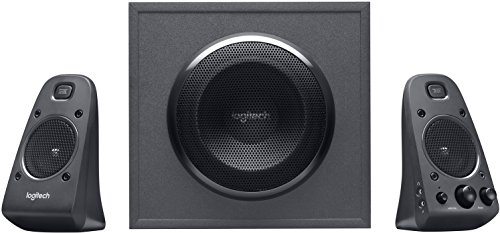 Logitech Z625 Powerful THX Sound 2.1 Speaker System for TVs, Game Consoles and Computers (Best 2.1 Speakers For Music)