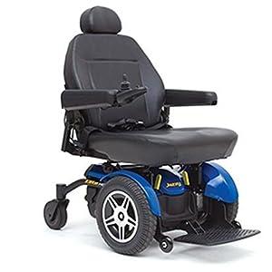 Pride Mobility – Jazzy Elite HD – Heavy Duty Power Chair – Jazzy Blue