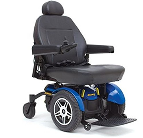 Pride Mobility - Jazzy Elite HD - Heavy Duty Power Chair - Jazzy Blue