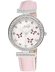 Italian Wrist Watch For Women By Didofa: 3D Original Fashion Watch With A Unique Bedazzled Design And Butterfly...