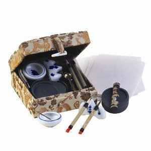 Chinese Calligraphy Supplies / Chinese Calligraphy Tools: Chinese Calligraphy Set ()