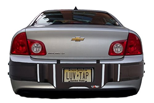 (Luv-Tap BG002 - Complete Coverage Universal Fit Rear Bumper Guard for Bumper Mounted Rear License Plate Vehicles - Covers The Entire Bumper with Cut-Out for License Plate)