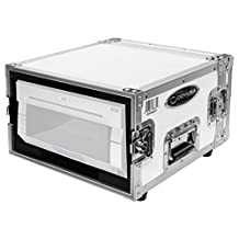 Odyssey Cases FZDNPDS40WHT | White Photo Booth Printer Case for DNP DS40 DS80
