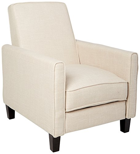 Best Selling Davis Fabric Recliner Club Chair, Light Beige ()