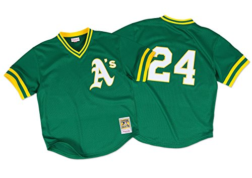 Rickey Henderson 1998 Oakland Athletics Authentic Mesh, used for sale  Delivered anywhere in USA