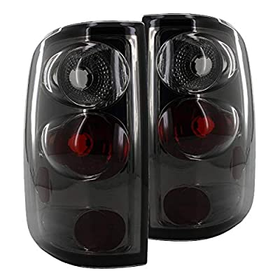 Spec-D Tuning LT-F15004G-TM Ford F150 Smoke Tint Chrome Altezza Tail Lights: Automotive
