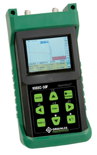 Greenlee 930XC-30F-UPC-SC Triple Wavelength Single Mode Filtered Optical Time Domain Reflectometer