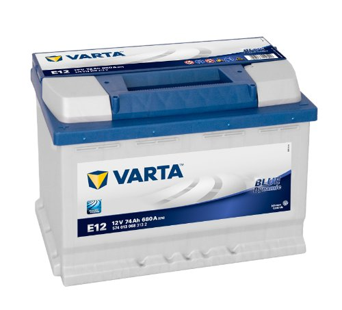 VARTA Blue Dynamic E12 Autobatterie 574 013 068 12V 74Ah Johnson Controls Autobatterie GmbH 5740130683132