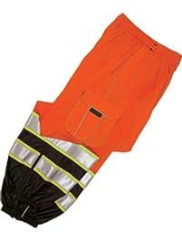ML Kishigo 3119 Polyester Brilliant Series Mesh Pant, Fits Large and Extra Large, Orange