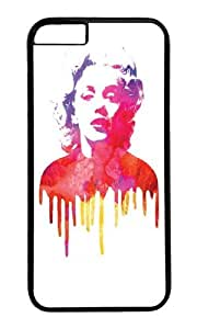 Apple Iphone 6 Case,WENJORS Adorable Marilyn I Hard Case Protective Shell Cell Phone Cover For Apple Iphone 6 (4.7 Inch) - PC Black
