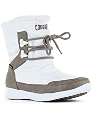 Cougar Shoes Womens Wonder White Nylon 10 M