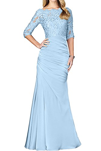 Estuche Vestido azul mujer para claro Topkleider qw4xaPgBP