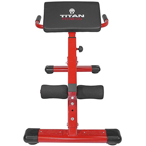 Titan Abs Back Hyper Extension Exercise Bench Roman Chair X Strength Training