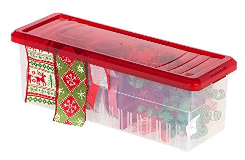 IRIS Ribbon Storage Box, Red (Iris Ribbon)