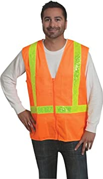 Liberty HiVizGard Polyester Surveyors Class 2 Vest with 2 Wide Reflective Stripes Liberty Glove & Safety