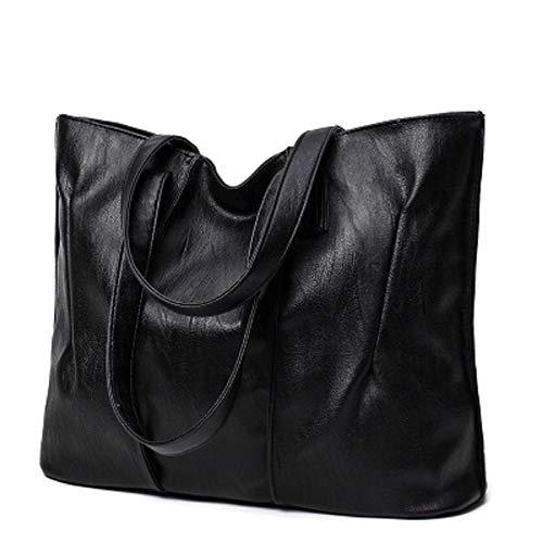 Sac Femme Sac Simple ZHRUI Noir Sac Sauvage Main Unique Sac Bag à à fourre Main Tout Big pour wIAI4Xq