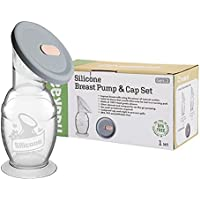 Haakaa Silicone Breast Pump with Suction Base (100ml) & Silicone Cap Gift Box