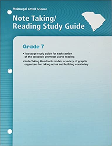 McDougal Littell Science Note Taking And Reading Study