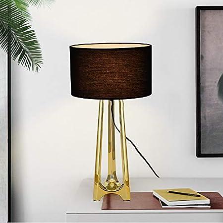 LOKJOM Lámpara de Mesa LED nórdica Decoración Loft Art Sala de ...